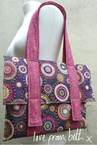 Love From Beth - Quilted Satchel Sewing Pattern